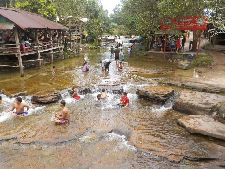 Kbal Chhay Waterfall, Sihanoukville