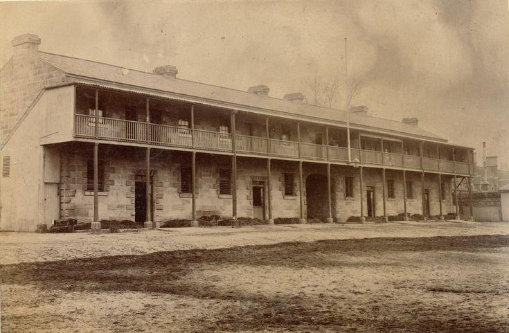 Carters' Barracks, Pitt St., cnr. Eddy Avenue, Sydney