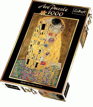 Puzzle Trefl 1000 El 10291 Pocalunek 4346248802 Oficjalne Archiwum Allegro The Kiss Klimt 1000 Piece Jigsaw Puzzles Jigsaw Puzzles