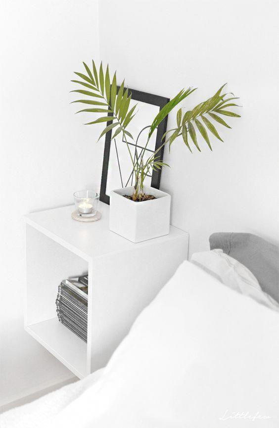 Bedste 25+ natbord ideer til små rum