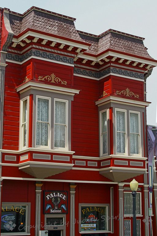 Ferndale Beauty ~ The small town of Ferndale in northern California has made a point of restoring their old Victorian homes and businesses, ...