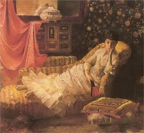 Portrait of Maria Dragoumi - Polychronis Lembesis