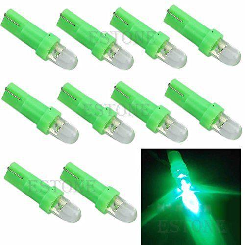 crewpros (TM) 10T5Ampoule Lampe 12V LED Vert Calibre pour voiture tableau de bord Dash New: Description du produit 100% neuf et de haute…