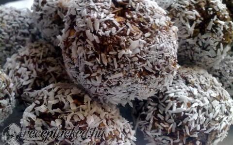 Kókuszgolyók diétásan recept fotóval