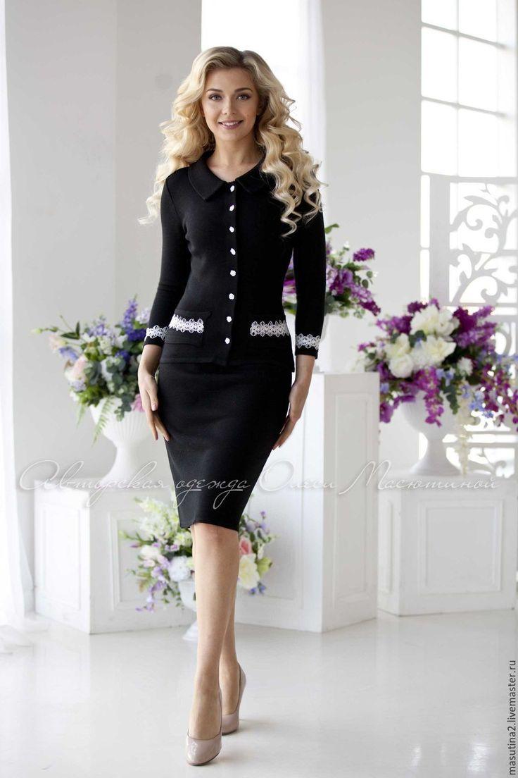 купить деловое платье костюм