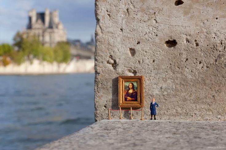 Mundos En Miniatura Con Un Toque Ácido De Humor
