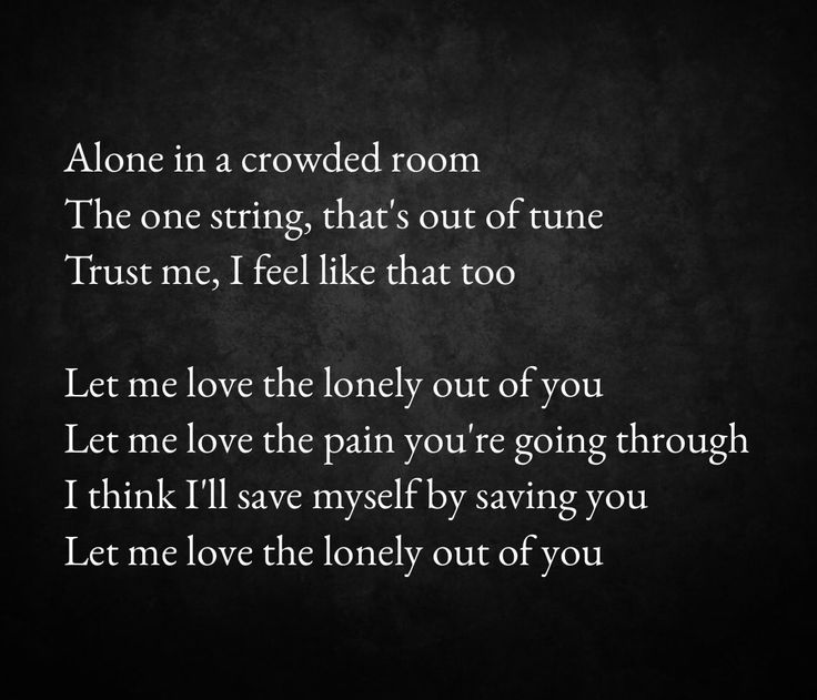 Let me love the lonely out of you by James Arthur from his album Back from the edge #2016 #mostbeautifulvoiceever
