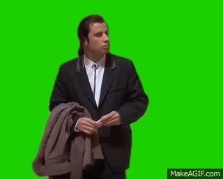 Meme John Travolta confundido - Confused John Travolta Meme
