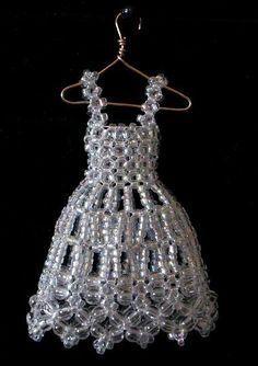Bead Dress by pinkythepink on deviantART