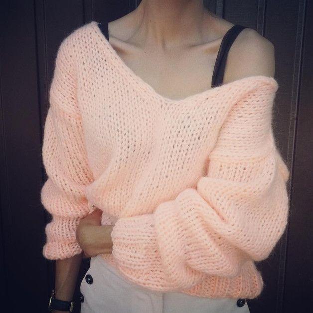 Cloud Mohair - VLOKA_HANDMADE - Swetry i bezrękawniki