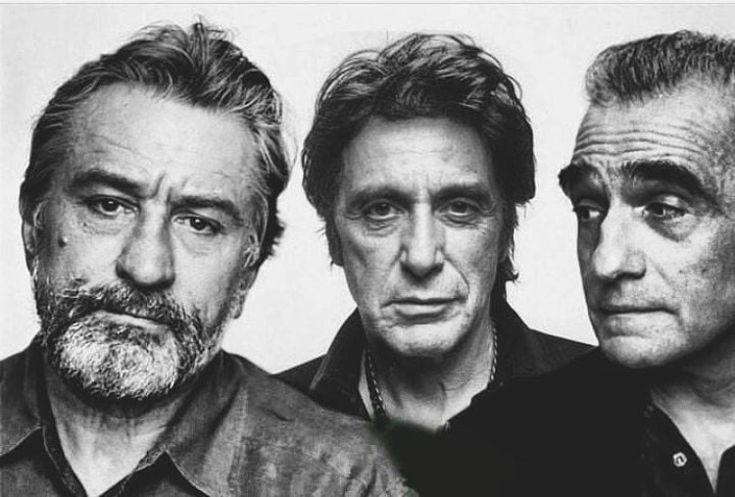 Robert DeNiro, Al Pacino and Martin Scorsese