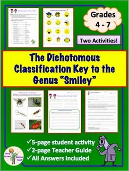 """Dichotomous Key to the Genus """"Smiley"""" (Classification and Taxonomy)"""