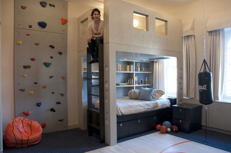 Les 25 meilleures id es concernant mur d 39 escalade sur for Deco chambre etats unis