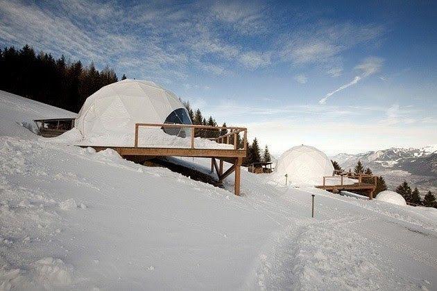 WHITEPOD ECO-LUXURY HOTEL IN THE SWISS ALPS