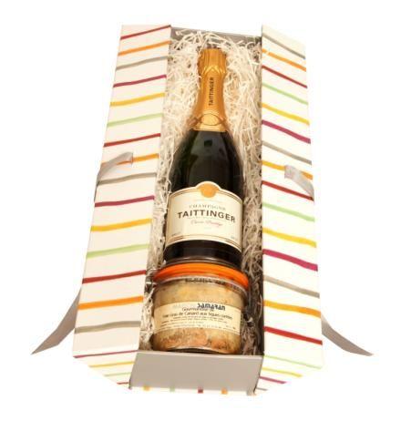 Coffret Foie gras entier & Champagne