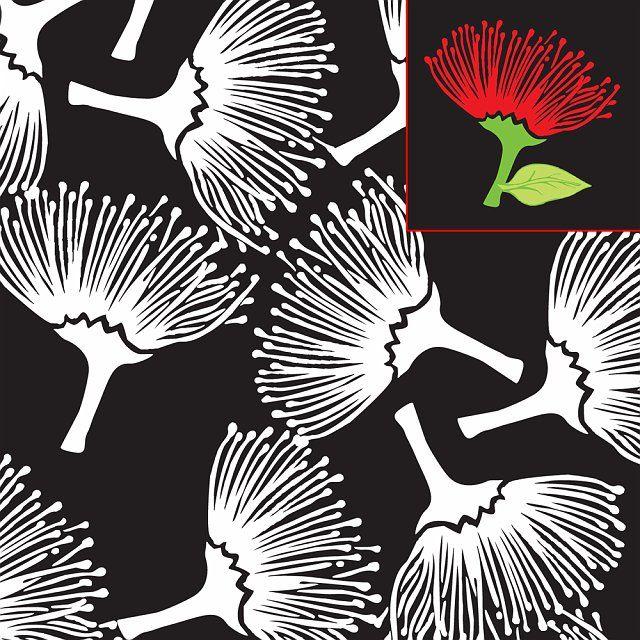 pohutakawa_fabric_design.jpg 640×640 pixels