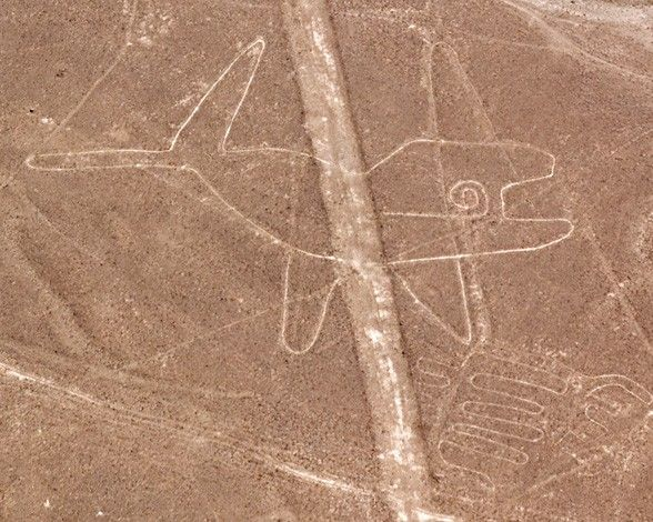 Las lineas de Nazca. La ballena