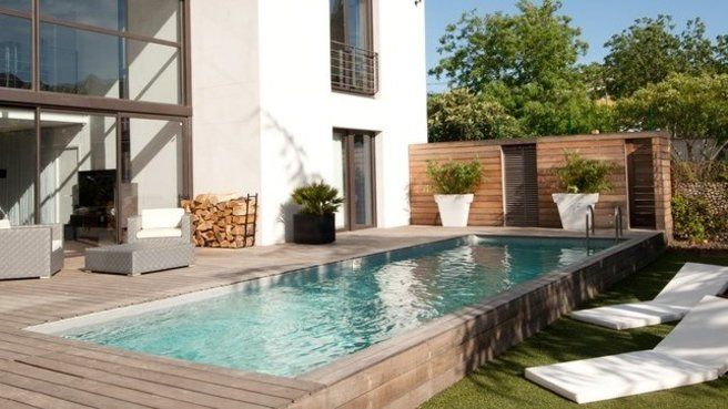 17 best images about idees terrasse piscine on pinterest - Idee terrasse piscine ...