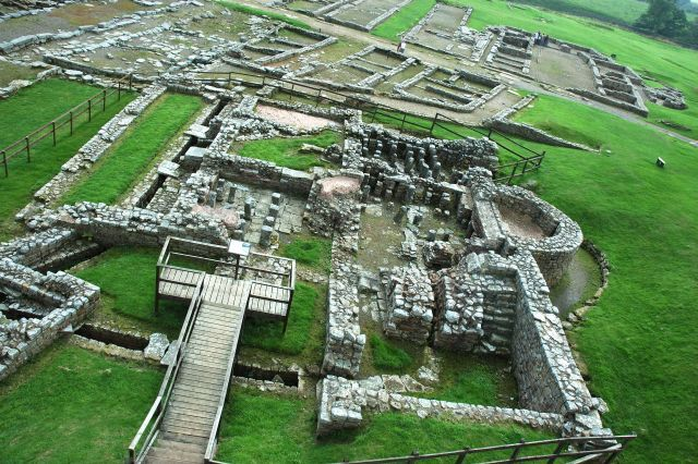 Vindolanda was a Roman Auxiliary Fort just South of Hadrians Wall, located near the modern village of Bardon Hill.