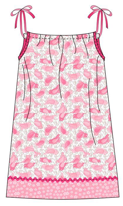pattern found here -  http://www.fabshophop.com/downloads/pillowcasedress_chop1.pdf