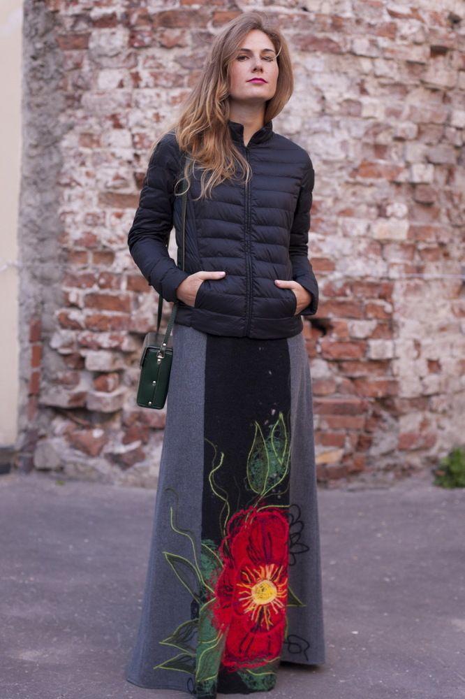 "Яга юбка на подкладке ""Красный цветок"". Цена: 7790 руб."