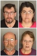 Posted April 18, 2015 According to an April 17 report by WSPA7 News, four people have been charged in an animal abuse case in South Carolina.  Berkeley County Sheriff's Office announced Friday morning that four people were arrested and charges filed after 66 Chinese Shar-Pei dogs were rescued from 1249 Old Dairy Road in Summerville on January 30, 2015. The property was then condemned by the Department of County Codes.  The sheriff's office, along with Berkeley County Animal Control rescued…