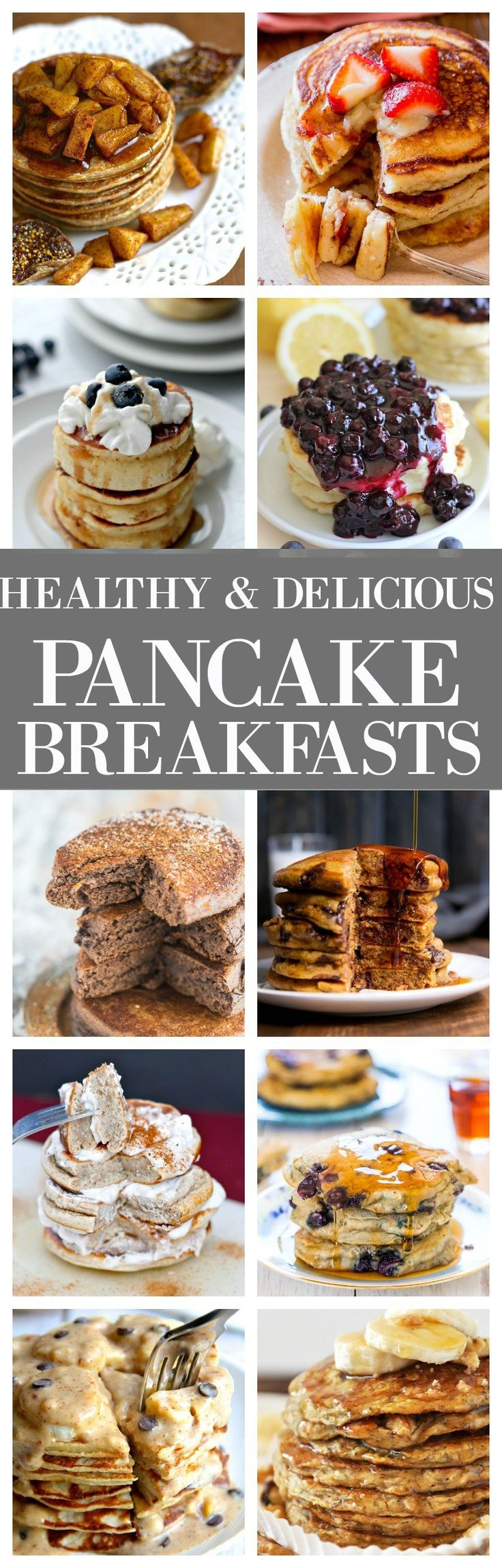 15 Healthy and Delicious Pancake Breakfast Recipes