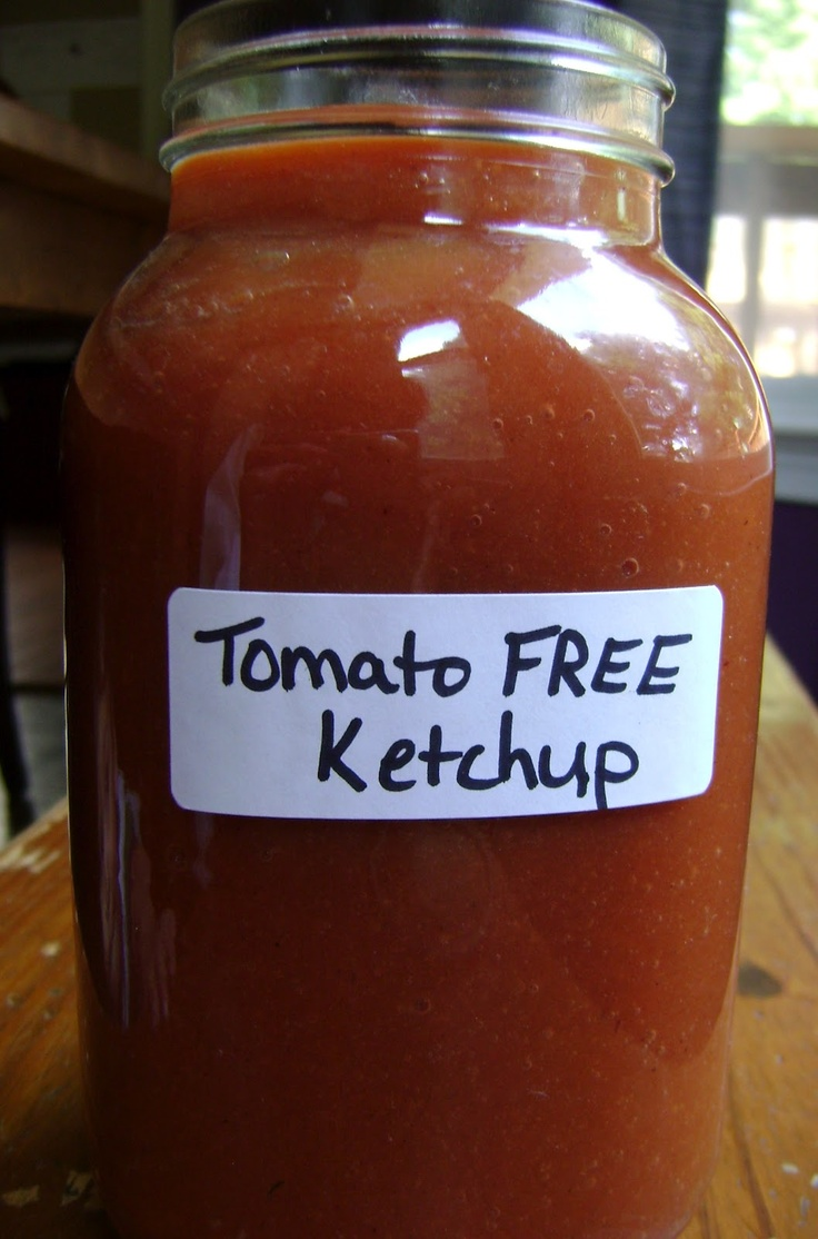 Raising Allergy Kids: Tomato Free Ketchup