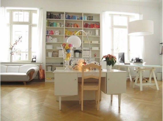 Vintage Home Offices Decoration Ideas 2013
