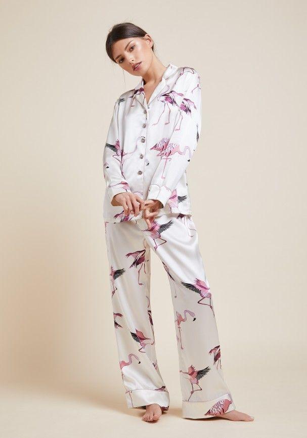 Lila Peregrine Silk Pyjama  974419a2b