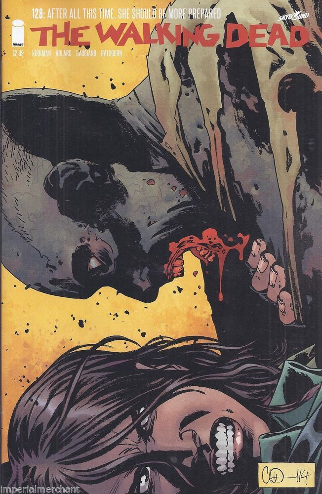 The Walking Dead comic issue 128