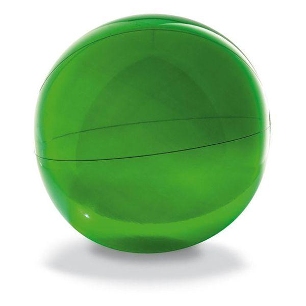Pelota inflable translucido