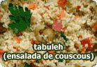 Tabuleh - Ensalada de Cous-cous