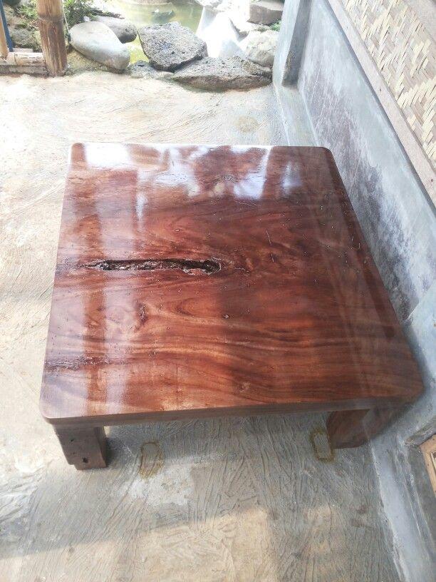 My new handmade coffee table