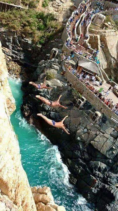 La quebrada acapulco mexico