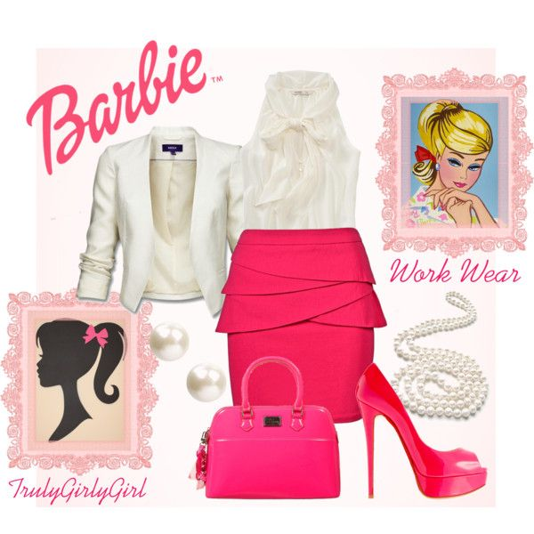 """Barbie: Work Wear"" by trulygirlygirl on Polyvore"