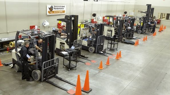 Crown Equipment Challenges Individuals to Embrace Forklift Safety #heavyequipment #construction