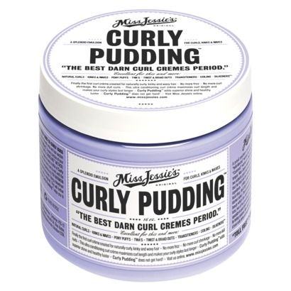 Miss Jessie's Curly Pudding.   This stuff is amazing.  Pricy, but totally worth it for very curly hair.