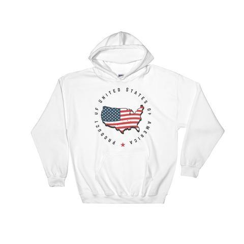 Retro United States Seal Hooded Sweatshirt
