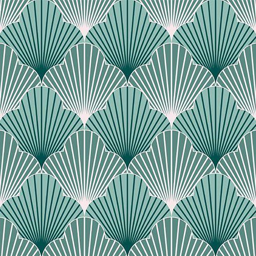 Zelda Art Deco Wallpaper Mural Murals Wallpaper Green Art Deco Turquoise Art Deco Art Deco Wallpaper