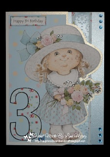 Morehead Shaped Birthday Card