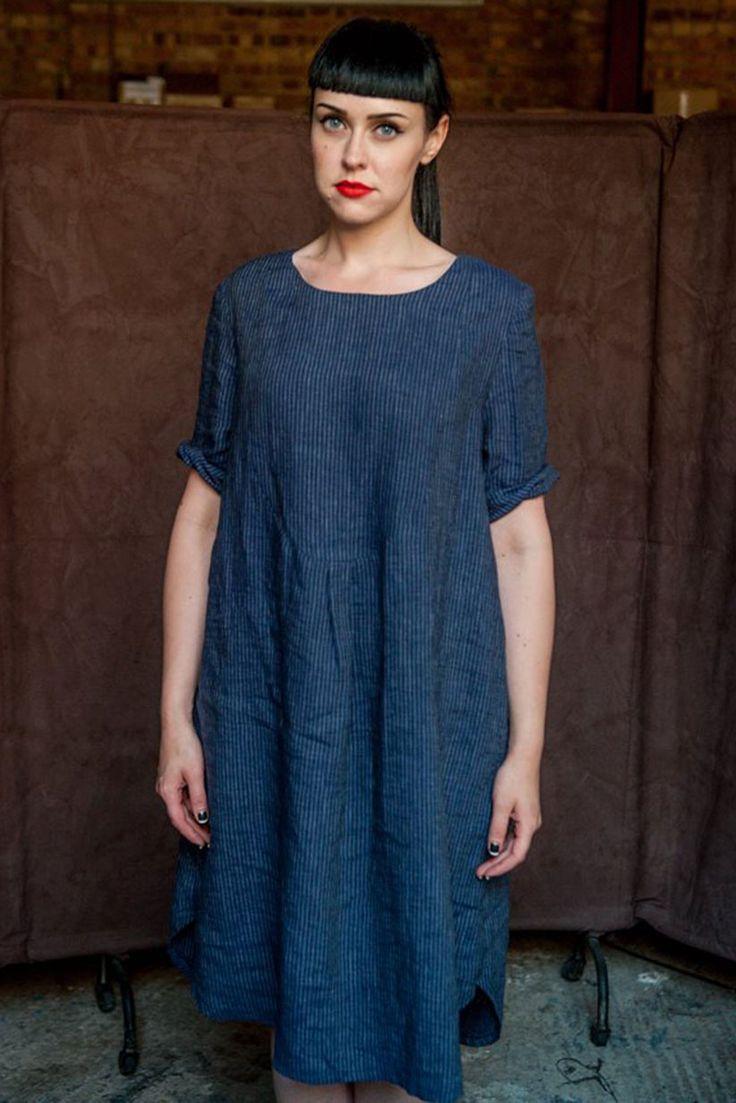 Merchant and Mills - Dress Shirt   FINISHED MEASUREMENTS    UK SIZING