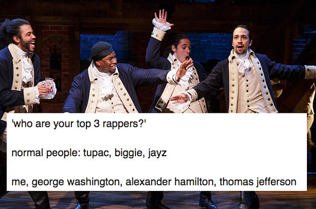 27 Times the Hamilton Fandom Had Jokes (This is the post where it happens.)