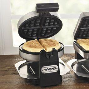 Waring Belgian Waffle Maker, Round, WMK200 | CHEFScatalog.com