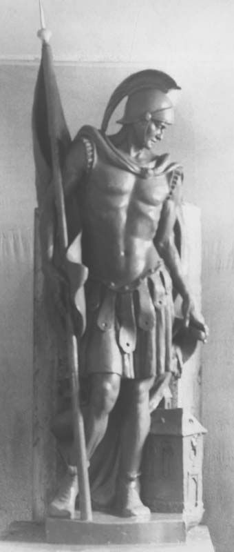 Statue of St. Florian.