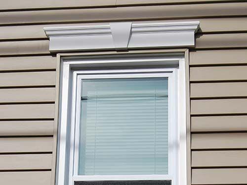 39 best the 39 base model 39 home ideas images on pinterest - Exterior window trim vinyl siding ...