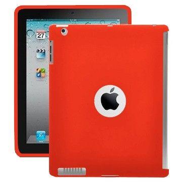 Color Shell (Rød) iPad 2 Cover