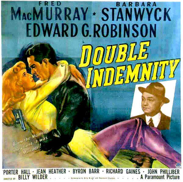 the role of a male victim in double indemnity a movie Double indemnity and the noir tradition it inaugurates from hollywood genres like the western and the musical, which are also constructed around the external doubling of good guys and bad guys or quarreling.