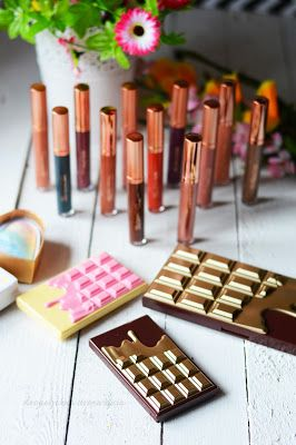 Makeup Revolution Retro Luxe, Golden Bar, Bronze and Glow, Light and Glow, Unicorns Heart