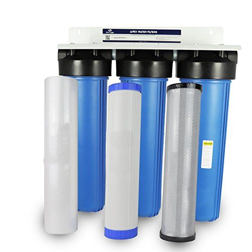 Apex Mr 3020 Whole House Gac Water Filter System With Activated Alumina Best Water Filter Water Filter Pitcher Water Filter